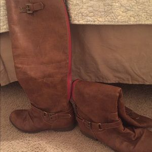 Journee collection knee high boots size 9